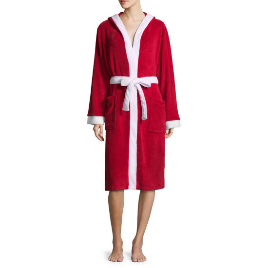 Family Pajama Santa Robe - Women's