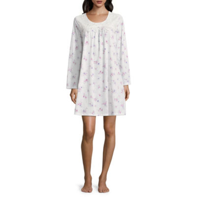 Adonna Long Sleeve Knit Nightgown
