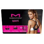Maidenform Convertible Low-Impact Wireless Racerback Sports Bra-Dm7992