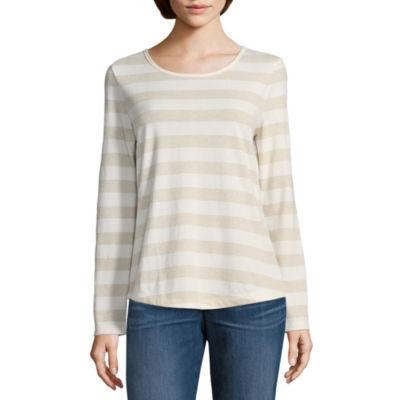 Liz Claiborne Long Sleeve Thermal- Talls