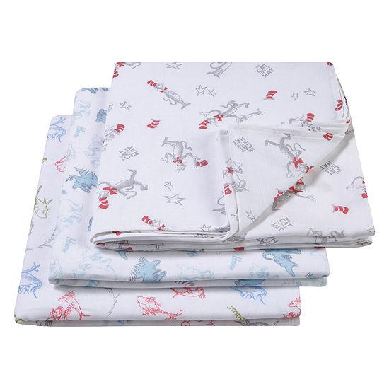 Trend Lab Dr. Seuss 3-Pk. 3-pc. Blanket - Unisex