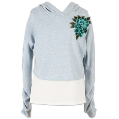 Speechless Floral Pullover Hoodie- Girls' 7-16
