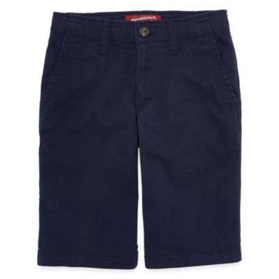 Arizona Chino Shorts Boys 4-20, Slim & Husky