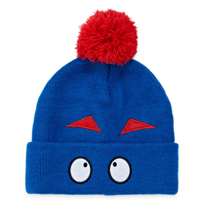 City Streets Monster POM Beanie Hat - Boys 4-20