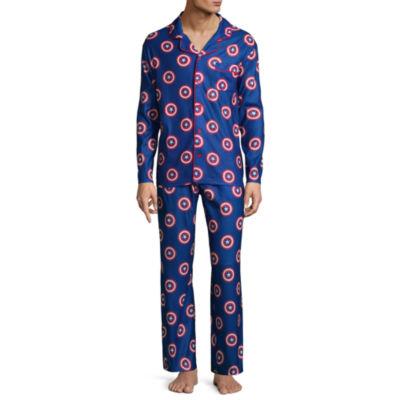 Captain America Men's Pajama Set