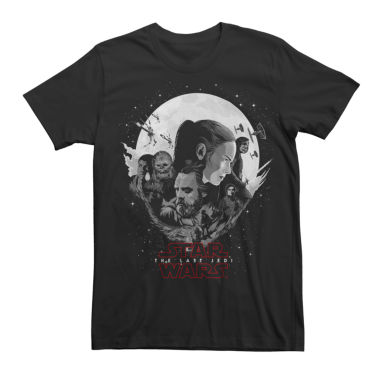 Short Sleeve Star Wars Tv + Movies EP 8 The F Graphic T-Shirt
