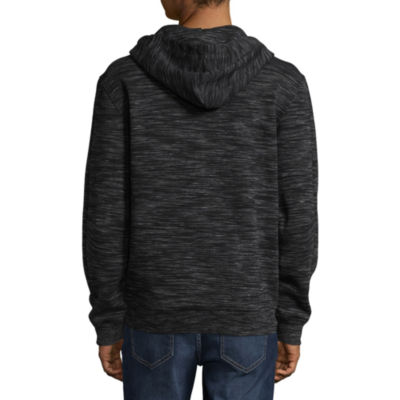Ecko Unltd Long Sleeve Fleece Pattern Hoodie