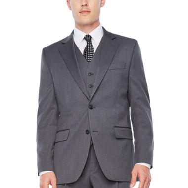jcpenney.com | Stafford Travel Stretch Med Grey Suit Separates-Classic