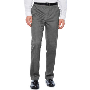 JF J.Ferrar Pin Dot Stretch Slim Fit Suit Pants - Slim