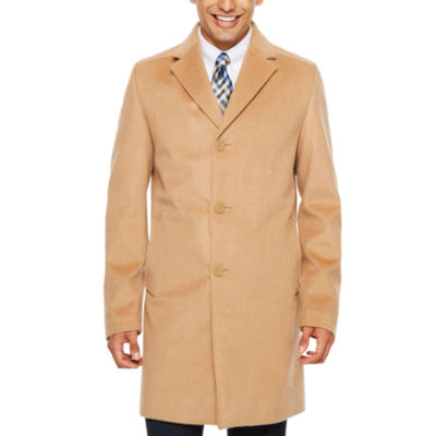 Stafford Water Resistant Interior Pockets Woven Topcoat