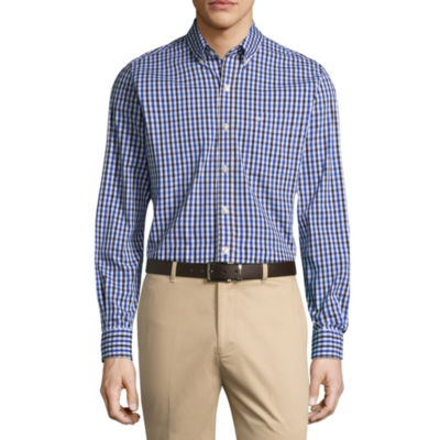 Dockers Long Sleeve Signature Stretch Button-Front Shirt