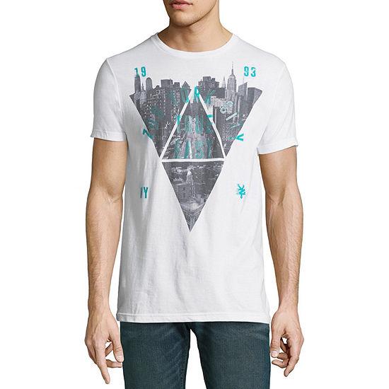 Zoo York Mens Crew Neck Short Sleeve Logo Graphic T Shirt