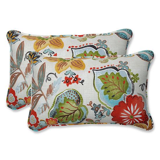 Pillow Perfect Alatriste Rectangular Outdoor Pillow - Set of 2