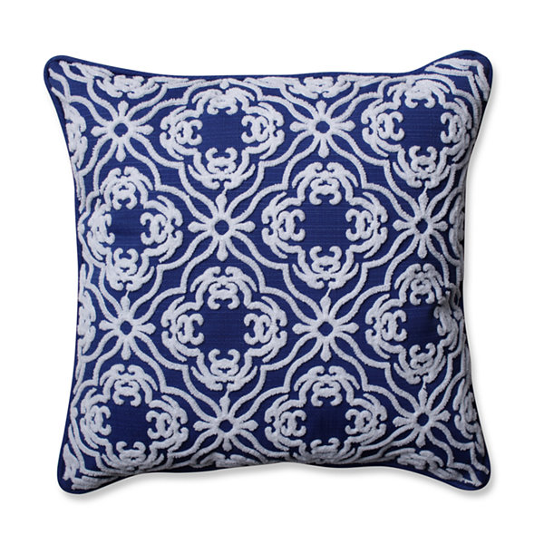 Pillow Perfect Allee Fresco Square Outdoor Pillow