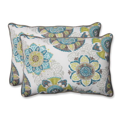 Pillow Perfect Allodala Rectangular Outdoor Pillow- Set of 2
