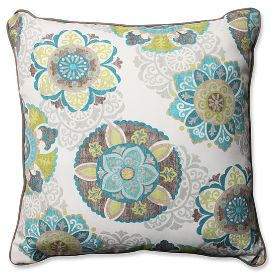 Pillow Perfect Allodala Square Outdoor /Outdoor Floor Pillow
