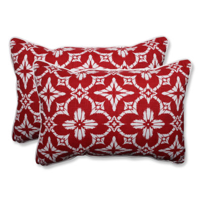 Pillow Perfect Aspidoras Rectangular Outdoor Pillow - Set of 2