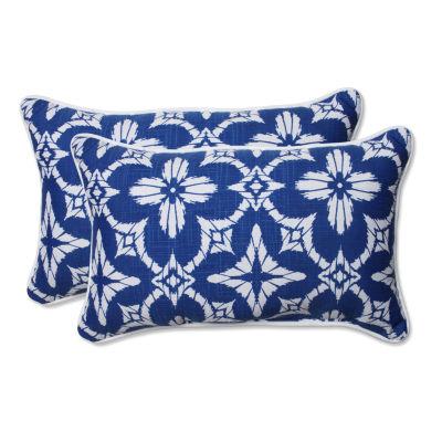 Pillow Perfect Aspidoras Rectangular Outdoor Pillow - Set of 2