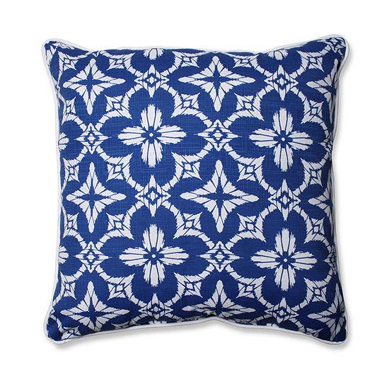 Pillow Perfect Aspidoras Square Outdoor Floor Pillow