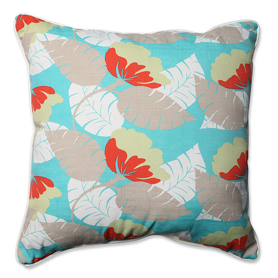 Pillow Perfect Avia Square Outdoor Floor Pillow