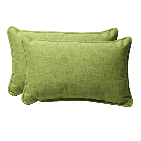 Pillow Perfect Baja Rectangular Outdoor Pillow - Set of 2