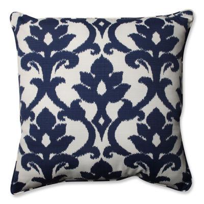 Pillow Perfect Basalto Square Outdoor Floor Pillow