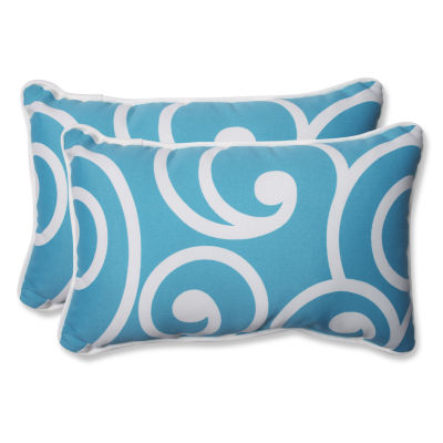 Pillow Perfect Best Rectangular Outdoor Pillow - Set of 2