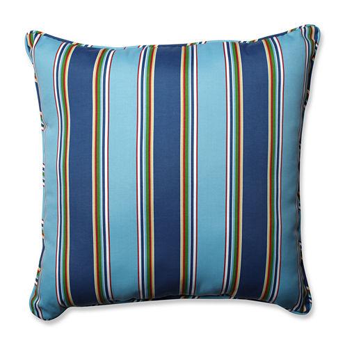 Pillow Perfect Bonfire Square Outdoor/Outdoor Floor Pillow