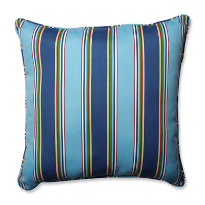 Pillow Perfect Bonfire Square Outdoor/Outdoor Floor Pillow