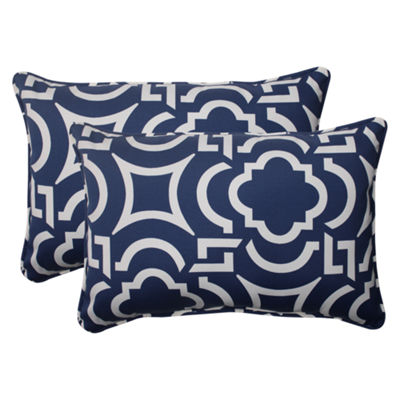 Pillow Perfect Carmody Rectangular Outdoor Pillow- Set of 2