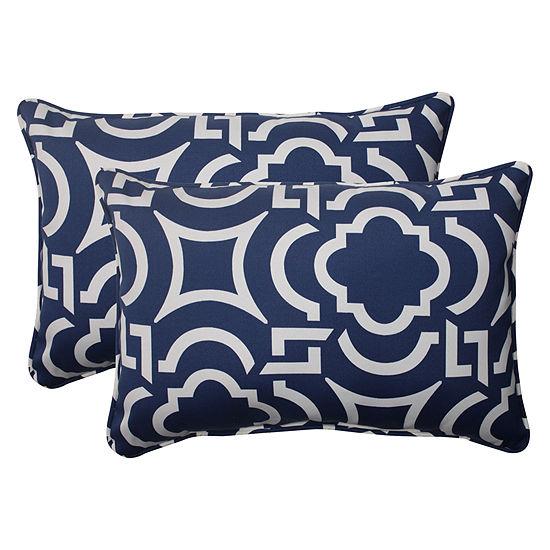 Pillow Perfect Carmody Rectangular Outdoor Pillow Set Of 2