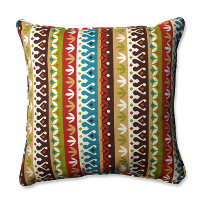 Pillow Perfect Cotrell Jungle Square Outdoor/Outdoor Floor Pillow