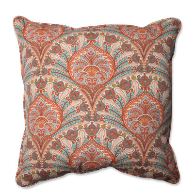 Pillow Perfect Crescent Beach Square Outdoor/Outdoor Floor Pillow