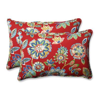 Pillow Perfect Daelyn Rectangular Outdoor Pillow -Set of 2