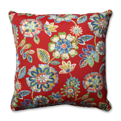 Pillow Perfect Daelyn Square Outdoor//Indoor FloorPillow