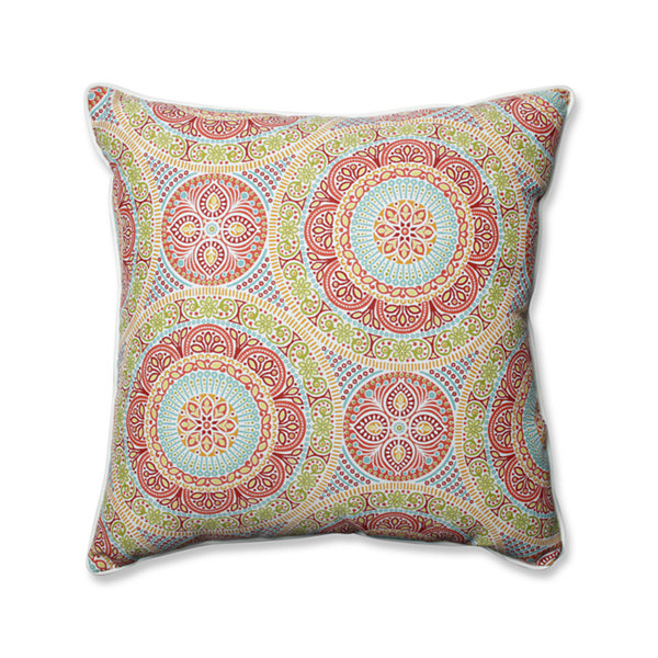 Pillow Perfect Delancey Square Outdoor Floor Pillow