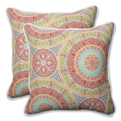 Pillow Perfect Delancey Square Outdoor/Outdoor Floor Pillow