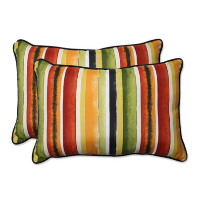Pillow Perfect Dina Rectangular Outdoor Pillow - Set of 2