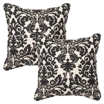 Pillow Perfect Essence Square Outdoor Pillow - Setof 2