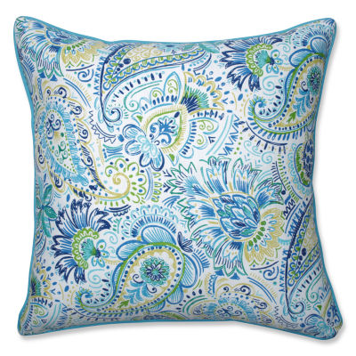 Pillow Perfect Outdoor/ Indoor Gilford Baltic 25?Inch Floor Pillow