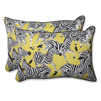 Pillow Perfect Herd Together Rectangular Outdoor Pillow - Set of 2