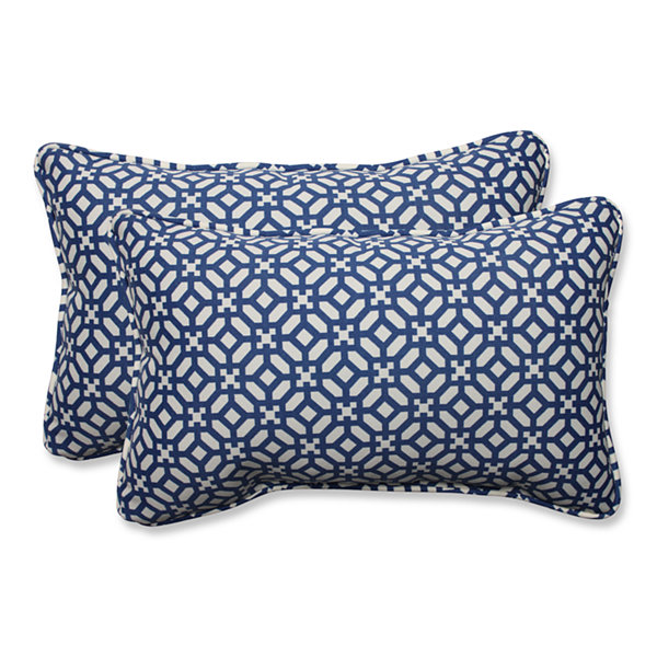 Pillow Perfect In The Frame Rectangular Outdoor Pillow - Set of 2
