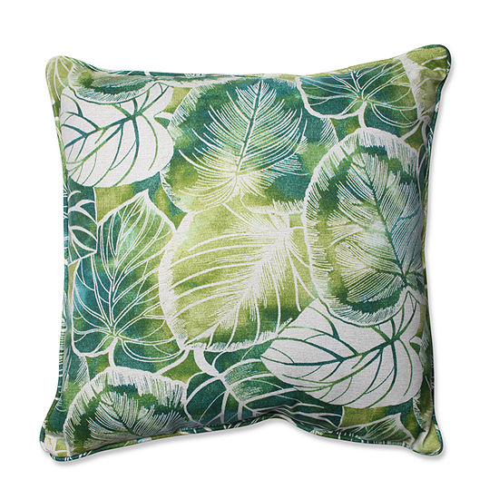 Pillow Perfect Key Cove Square Outdoor Floor Pillow
