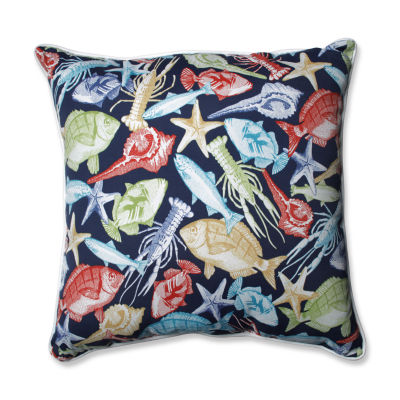 Pillow Perfect Keyisle Square Outdoor Floor Pillow