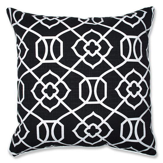 Pillow Perfect Kirkland Square Outdoor Floor Pillow