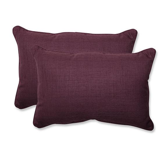 Pillow Perfect Rave Rectangular Outdoor Pillow - Set of 2