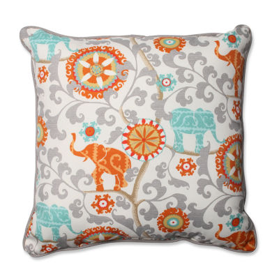 Pillow Perfect Menagerie Square Outdoor Floor Pillow