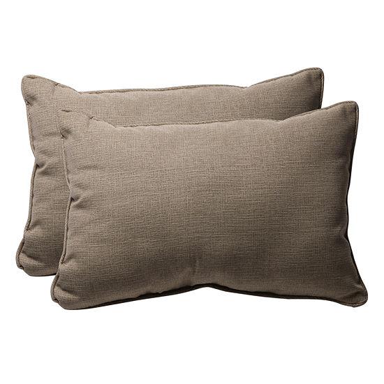 Pillow Perfect Monti Rectangular Outdoor Pillow -Set of 2