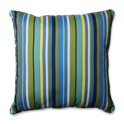 Pillow Perfect Topanga Stripe Square Outdoor FloorPillow - JCPenney
