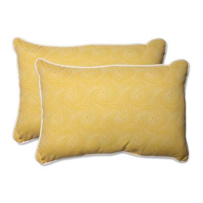 Pillow Perfect Nabil Rectangular Outdoor Pillow -Set of 2